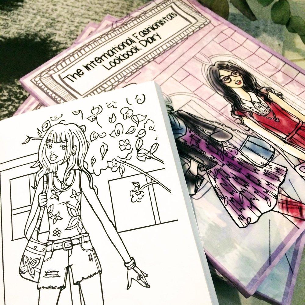 a look inside the international fashionista u0027s lookbook diary