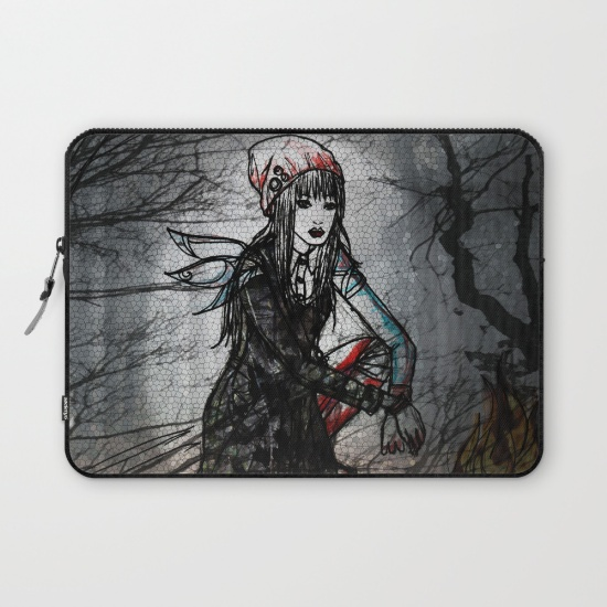 Dark Forest Laptop Sleeve