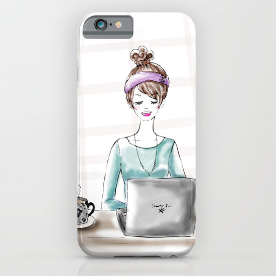 Busy Blogger Phone Case