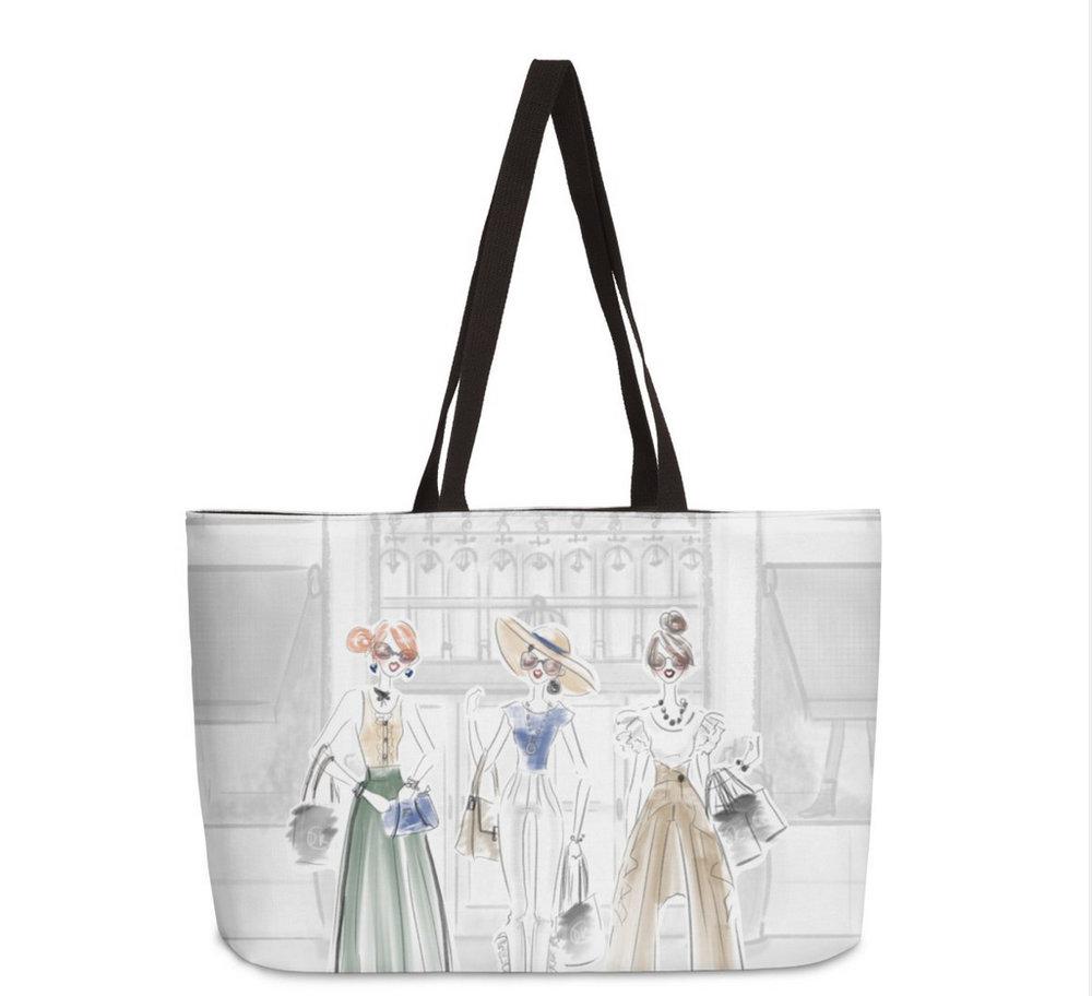 Fashion Tote - 5th Avenue Girls - Shop Totes at DeannaKei.com