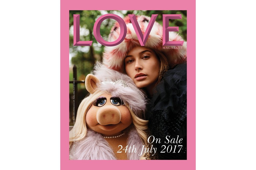 LOVE Magazine styled by Katie Grand