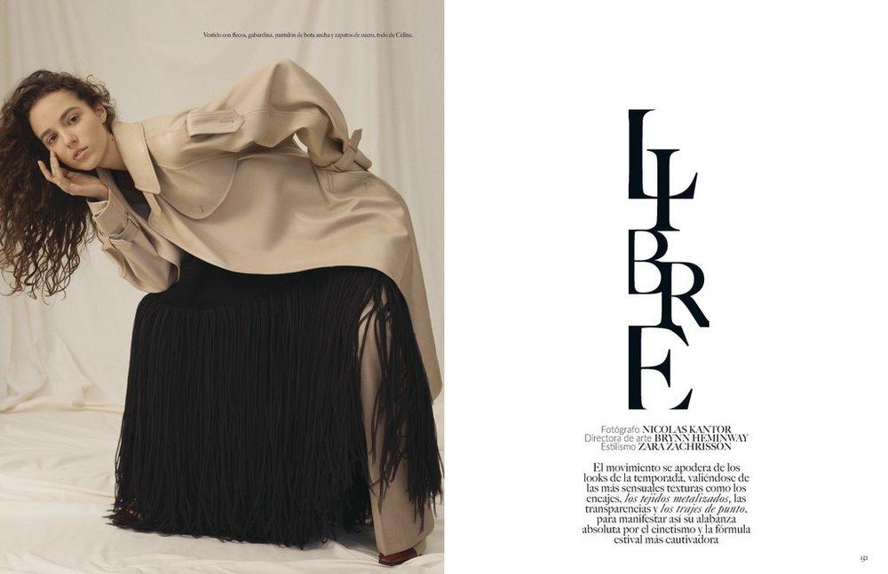 Vogue Mexico styled by Zara Zachrisson