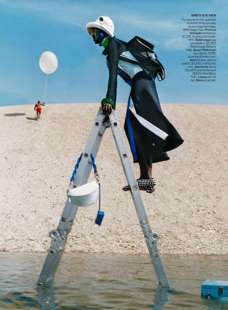 American Vogue styled by Alex Harrington