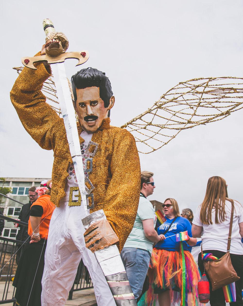 Freddie statue