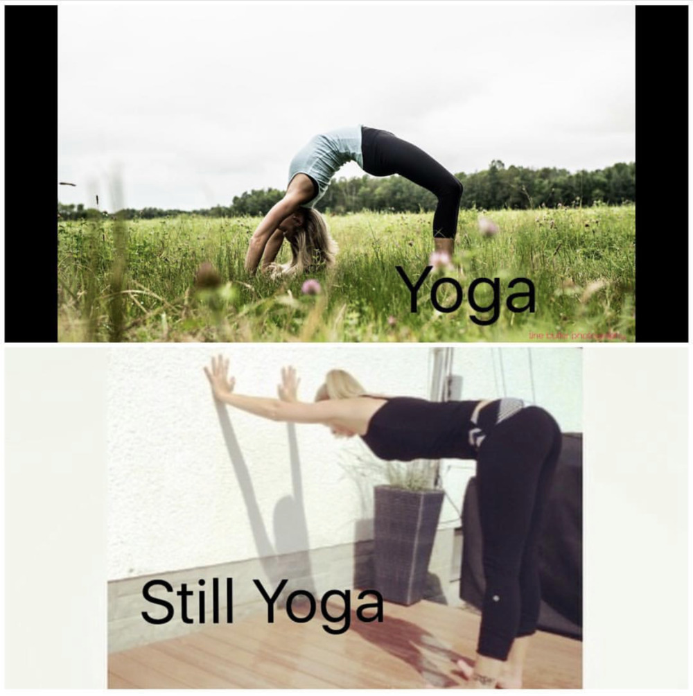 Yoga can look different and still be as beneficial