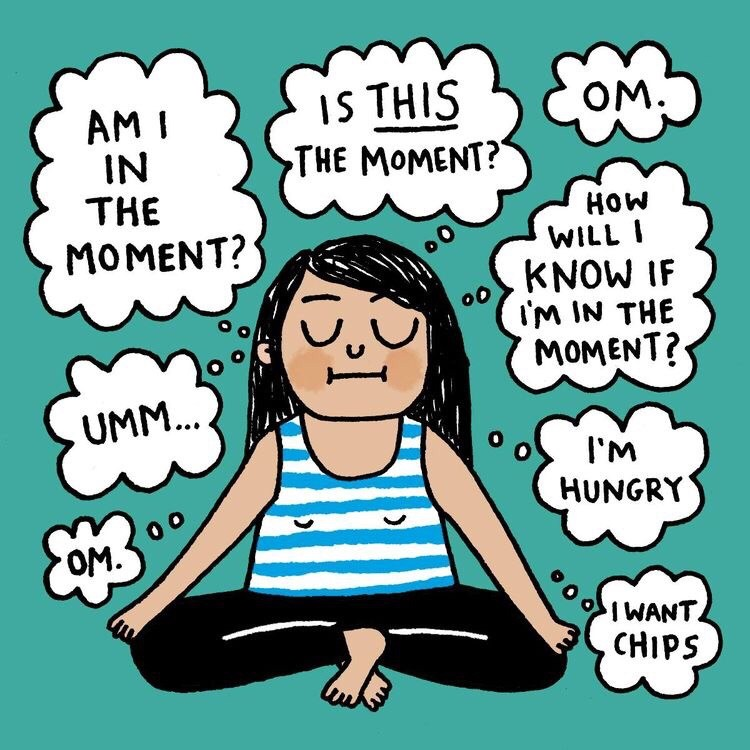Yoga Cartoon By Gemma Correll