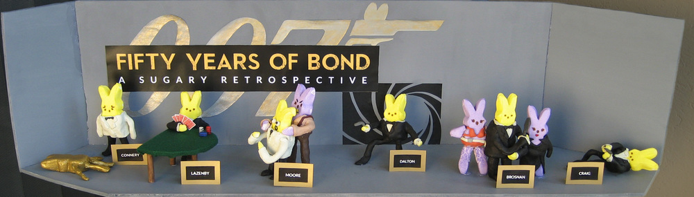 James Bond in Peeps