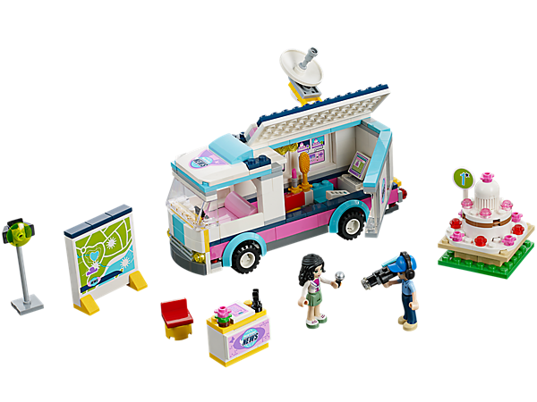 Heartlake News Van Set