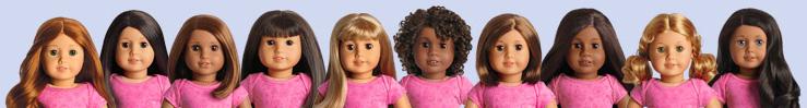 American Girl Doll Diversity