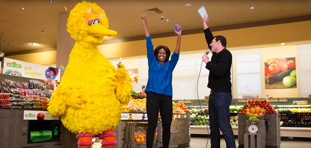 Big Bird, FLOTUS, & Billy