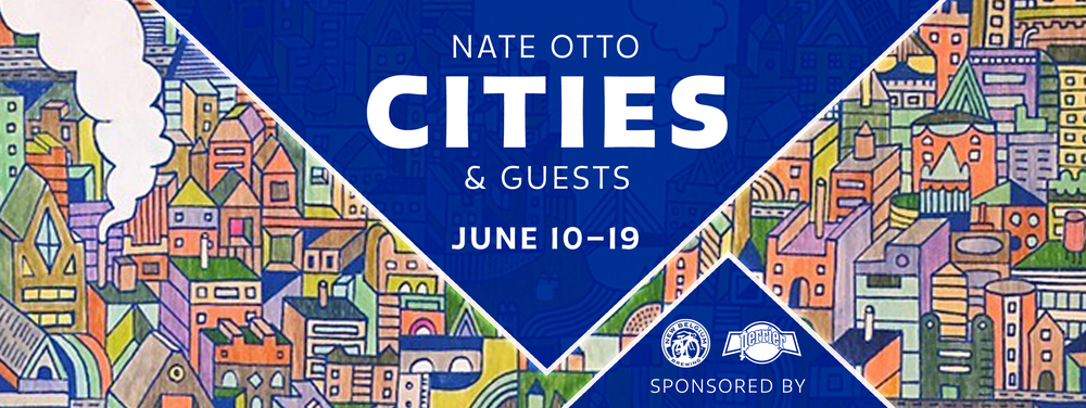 I am delighted to have been invited to submit 5 of my cityscapes into Galerie F's CITIES exhibition running from June 10 -19 2016 in Chicago. Headline artist is local artist Nate Otto.