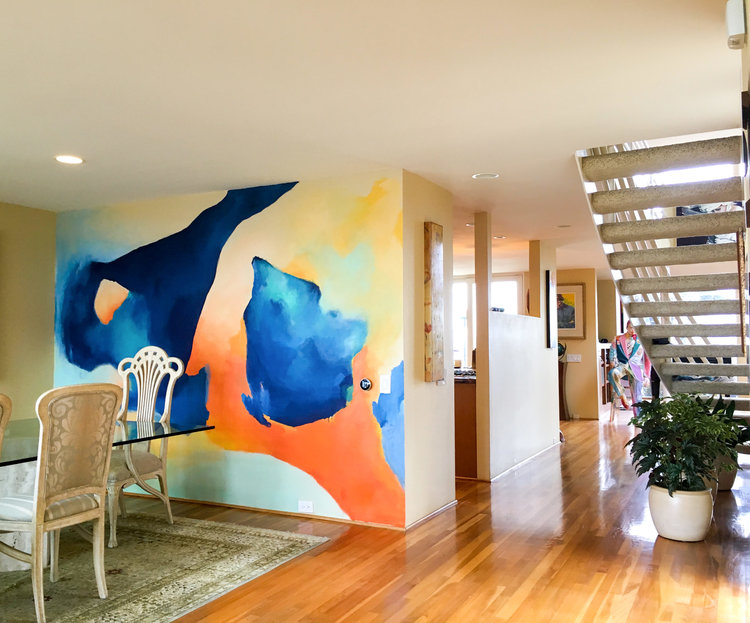 California mural -