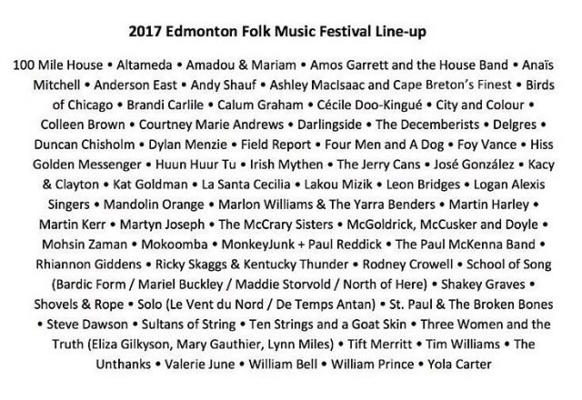 We'll be at @edmfolkfest this August!!