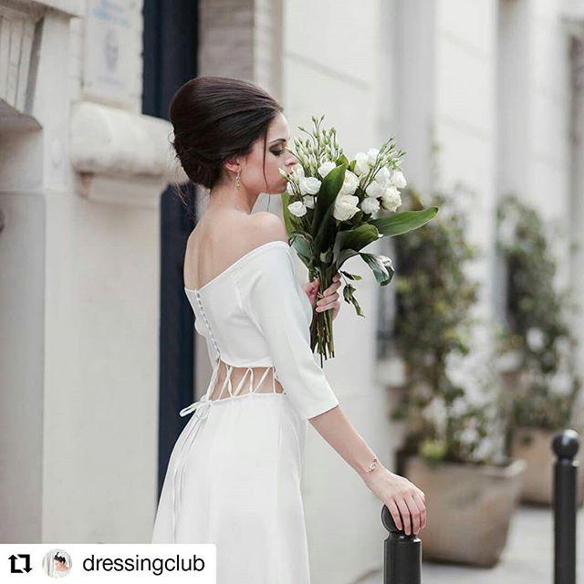 Avec printemps dans l'air retrouvez certains de mes modèles de #robedemariee chez @dressingclub à Paris ! 🌹🌹🌹 Retrouvez plus d'info sur le blog: https://dressing -club.com  #mariage #mariee #robeunique #fiancailles #fiancee #fiancée #mariageparis #bridetobe