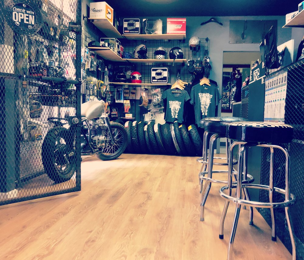 HeadKace Motorcycles Showroom in Tempe, Arizona