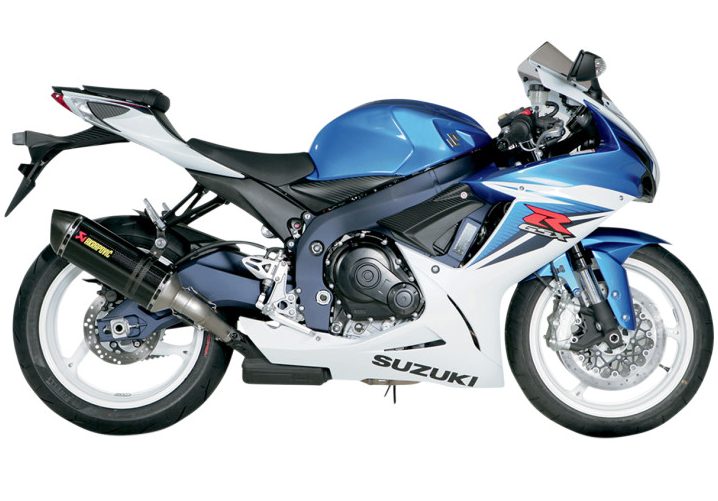We offer free installation on our Exhaust System Performance Packages for Suzuki GSX-R600/750 Sport Bikes.