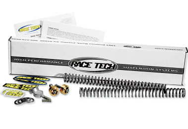 Complete Front-End Suspension Kits by Race Tech for Harley Davison. Get your forks lowered for $500