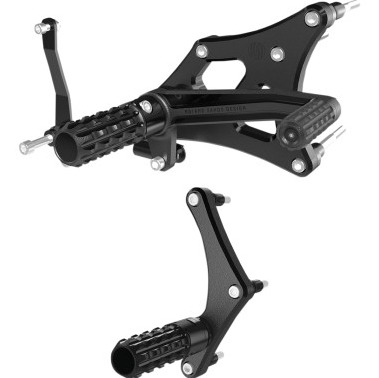 Roland Sands Design - Mid-Controls For Harley Davidson Sportster
