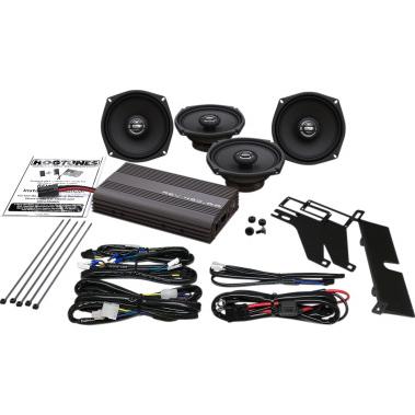 audio, communication, and mounts - hogtunes - 200 watt amp 5 1/4