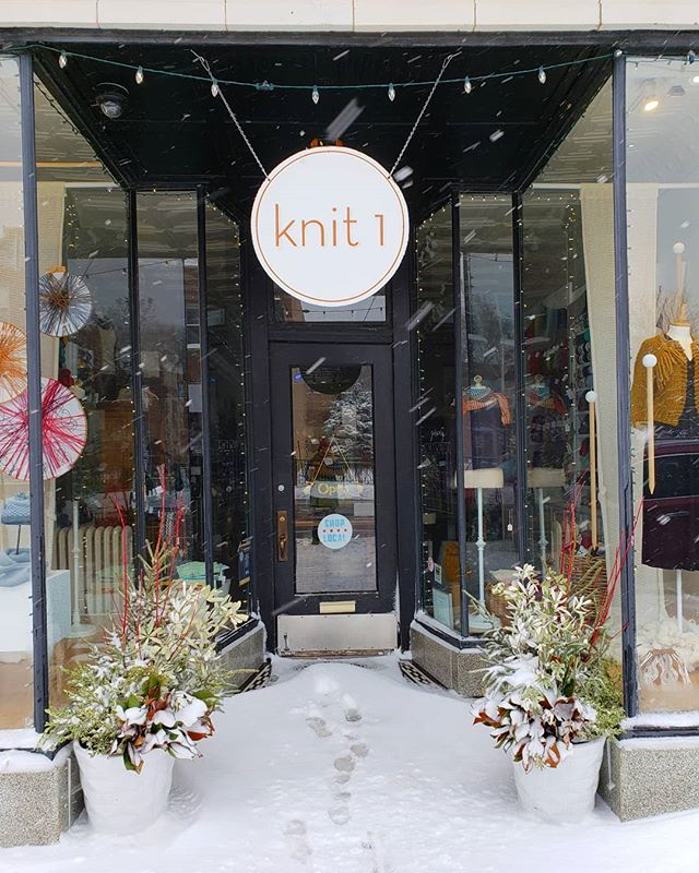 The snow is coming down but we are open! If you dig yourself out come pick out your snow day project!