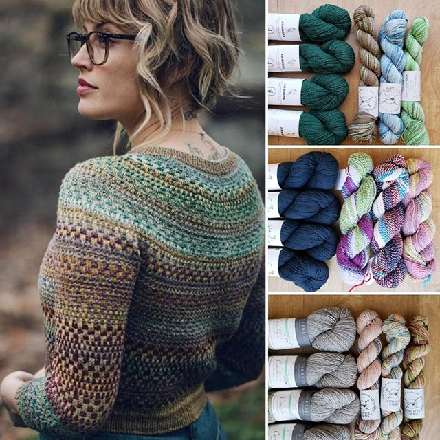 Yep! We are flipping out over @dreareneeknits's new Shifty sweater pattern too! We cant wait for our shipment of @spincycle_yarns so we are working with what we've got in the store and putting together some fun combos using a solid main colors from Jaggerspun, @kelbournewoolens Andorra, and @thefibrecompany's Cumbria Fingering with Dyed in the Wool and Stonehenge Fibers Crazy yarn! What do you think?! I know I'm ready to cast on! - Allyson #shifty #shiftysweater #spincycleyarns #kelbournewoolens #thefibercompany #andorra #cumbriafingering #stonehedgefibermillcrazy #stonehedgefibermill #dreareneeknits