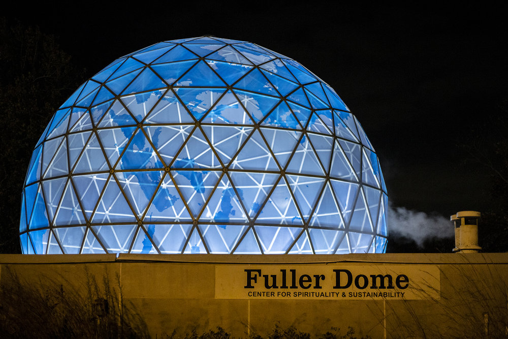 The evening of the Fuller Dome Gallery Inauguration 11/9/18