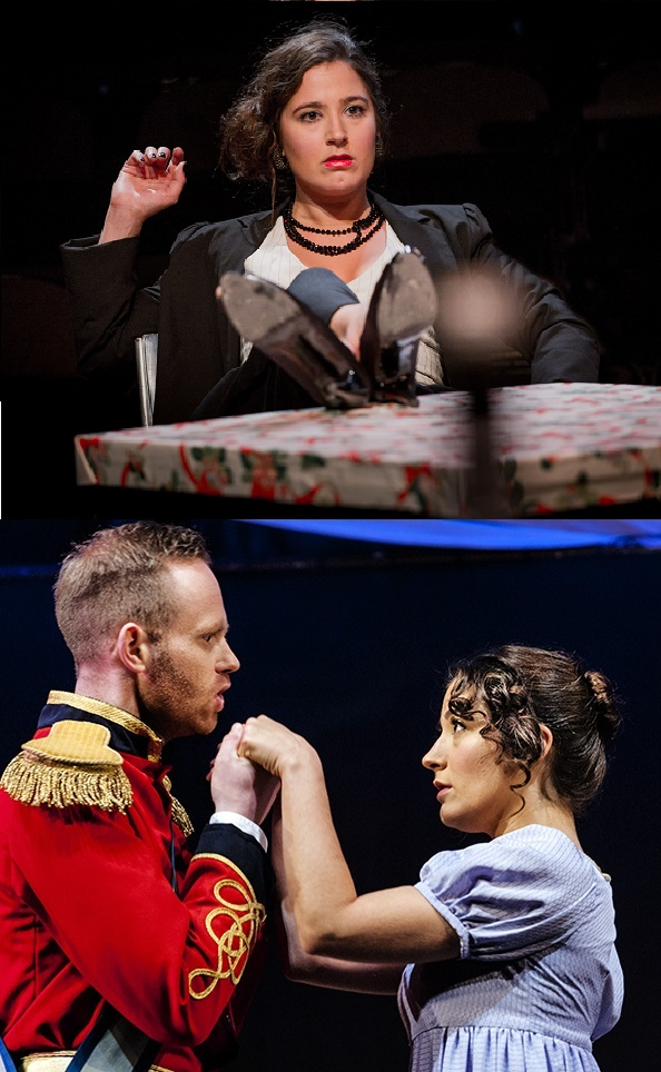 Musetta; Adina, with Belcore (Ian Helm)