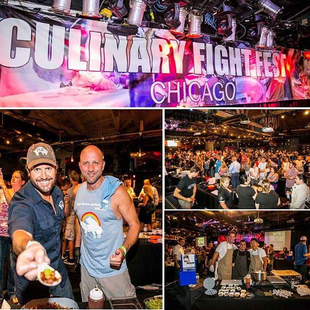 "Do you have your tickets yet to Culinary Fight Fest? It all happens in Chicago! Twenty champion chefs duke it out for your vote on 8/19. The top four chefs from day one go into The Final Plate competition on day two. Get your tickets now for Culinary Fight Fest in Chicago on 8/19 at 11am You'll see the  best champion Culinary Fight Club Chefs from around the country throw down. Day one consists of trying all the chefs best bites while sampling spirits, beer and soda! You'll get to enjoy all the chefs dishes plus the audience gets to vote for their favorite with the top four chefs make it to ""The Final Plate"". Click on Tickets in the profile to purchase. ‪#CulinaryFightClub #Chicago #Boston #foodie #food #foodporn #FoodSportNews #foodgasm #culinarybattle #culinary #cheflife  #cooking #competition #event #Cheferee#AnthonyMartorina #culinaryfightfest #reinhart #festival #reinhartfoodservice #beef #HerestheBeef #Wheresthebeef #Steak #BullOutdoor #CulinaryFightFest #iwantbosburger #CFC"