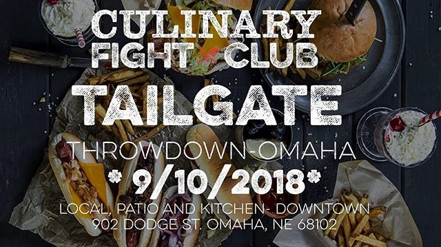 #CFCOmaha 2018 season finale!  Monday Night Lights are on at the @localbeerco (downtown) on 9/10 and we're getting our #tailgate on!  Tickets Here: https://bit.ly/2PqjLQi  #tailgate #food #omaha #omahanebraska #foodie #foodsport #foodsportnews #competition #grilling #burger #hotdog #cheflife