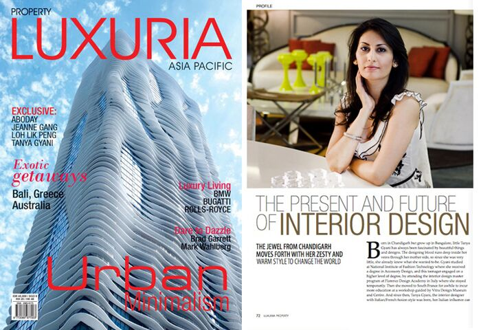 Featured Article, Luxuria Magazine