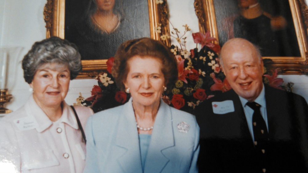 DeeDee Wattles, Lady Margaret Thatcher, Walter Wattles