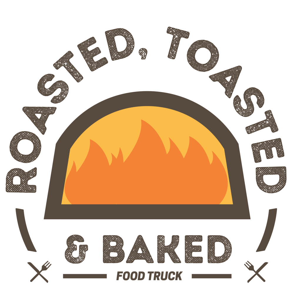 Roasted Toasted & Baked Food Truck, Lafayette, IN. Designed by Hagan Design Co in Champaign IL
