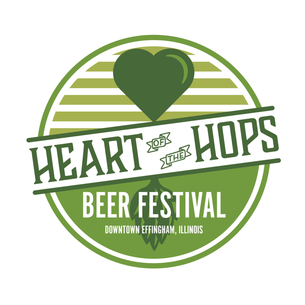 Craft beer festival logo branding design by Hagan Design Co Champaign Illinois