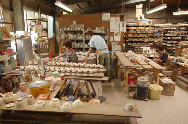 A Minoyaki Workshop