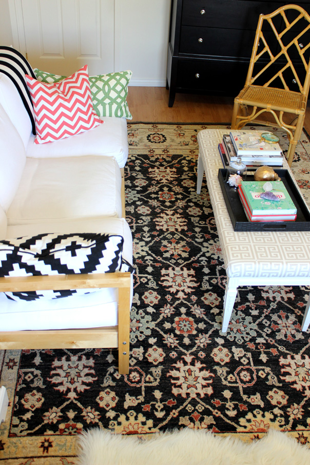 love on sunday, tiffany leigh interior design, thrifted thursday, elte rug