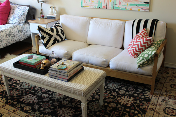 tiffany leigh interior design, thrifted thursday, elte rug