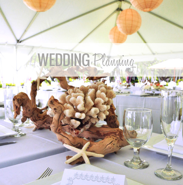 hawaiian wedding decor