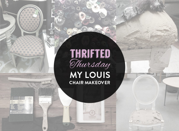 louis chair makeover