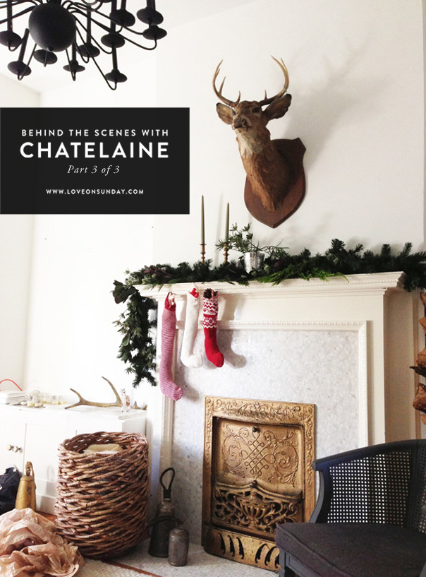 Chatelaine, December Holiday Issue, Behind the scenes