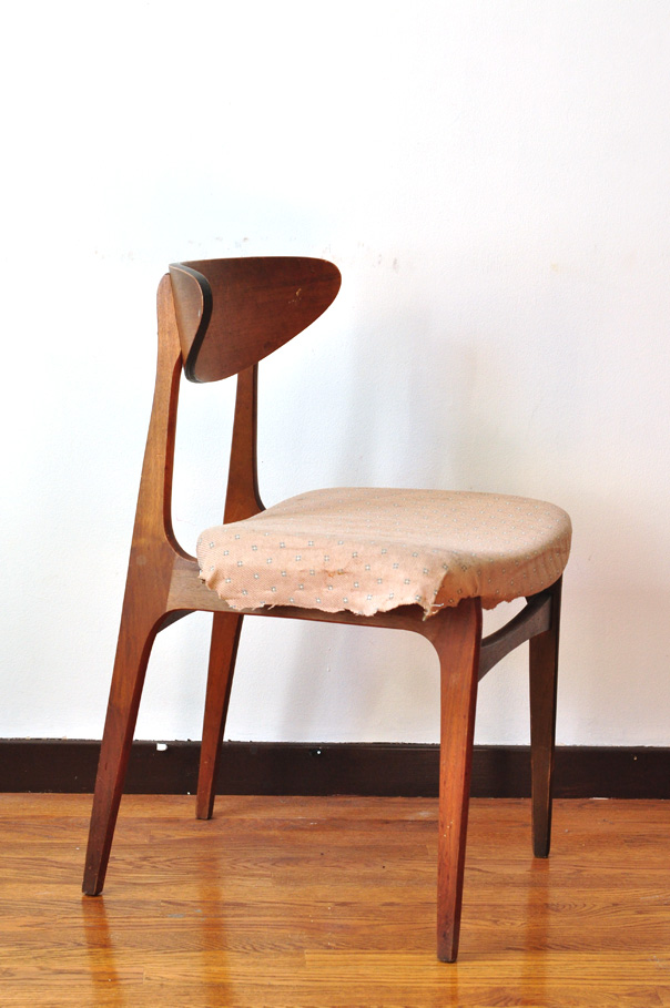 mid-century teak dining chairs