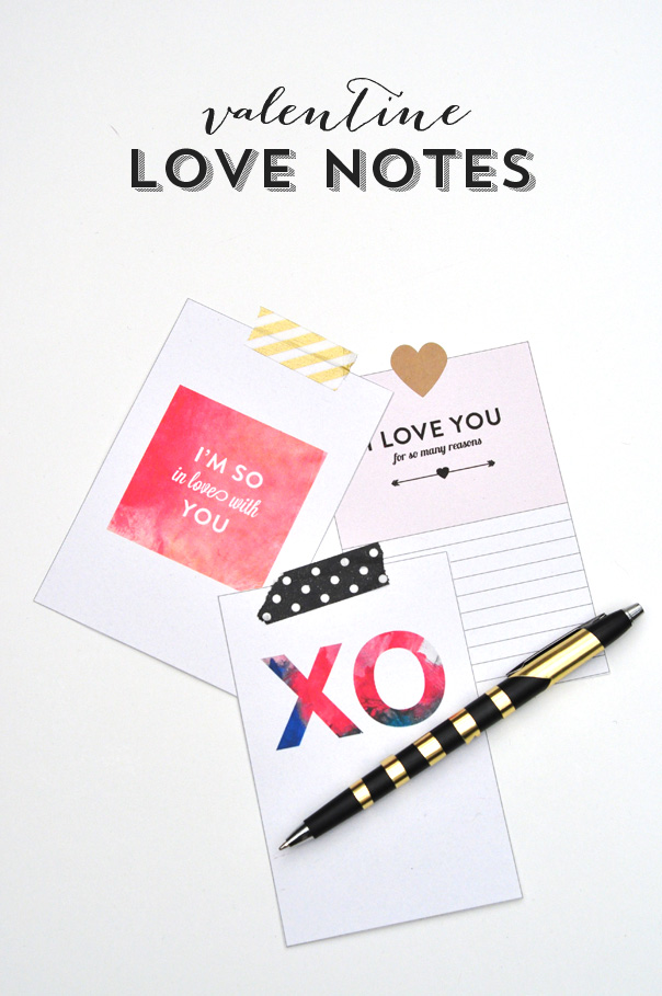 image regarding Printable Love Notes referred to as Delight in Notes: A Absolutely free Printable Delight in Upon Sunday