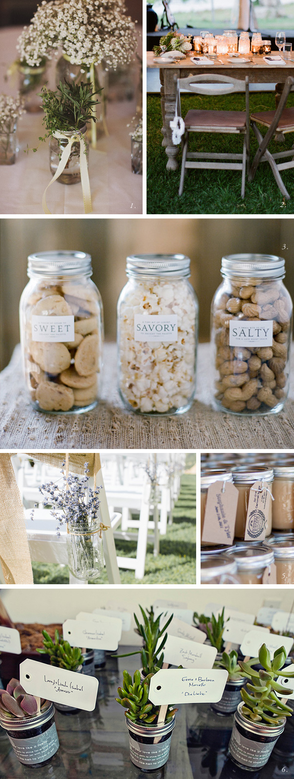 vintage mason jar ideas