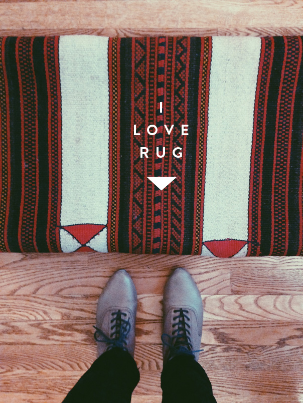 thrifted rug