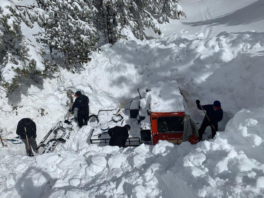 SnowCat at Mt.Rose