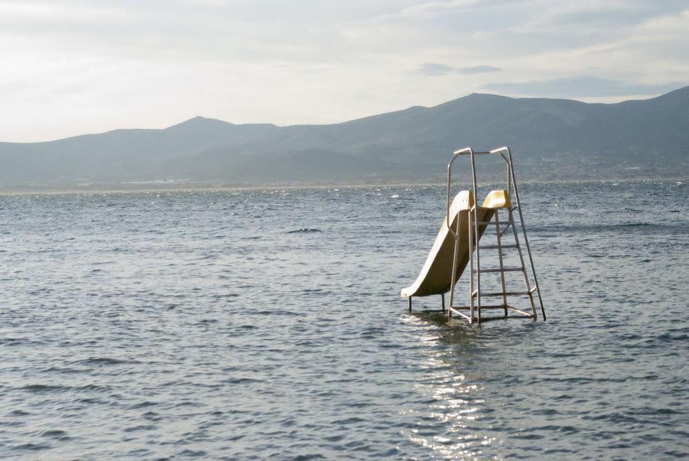 A slide - in Croatia