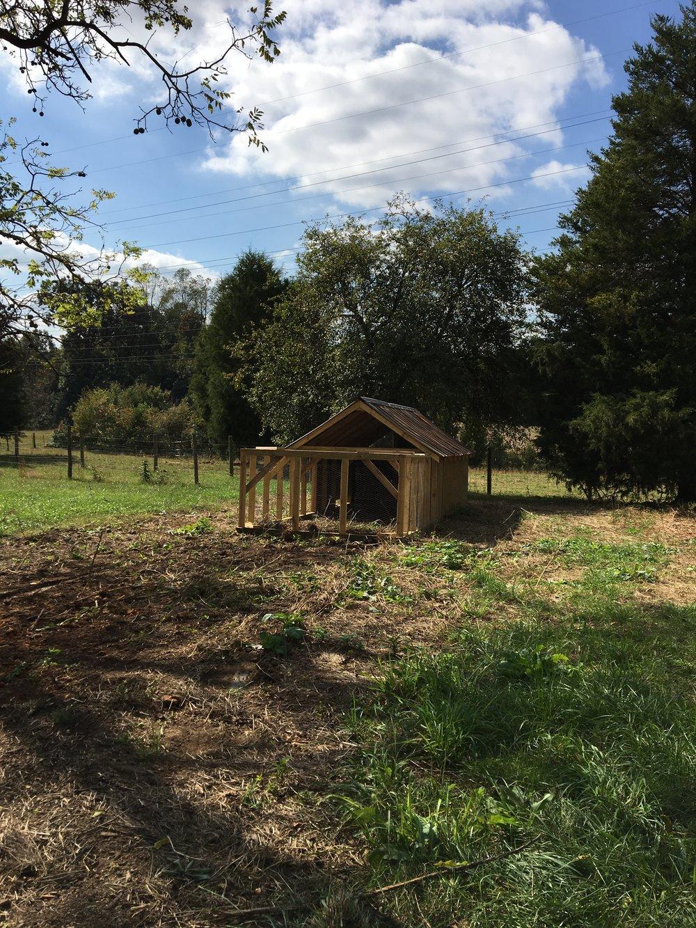Brooder House on Family Garden