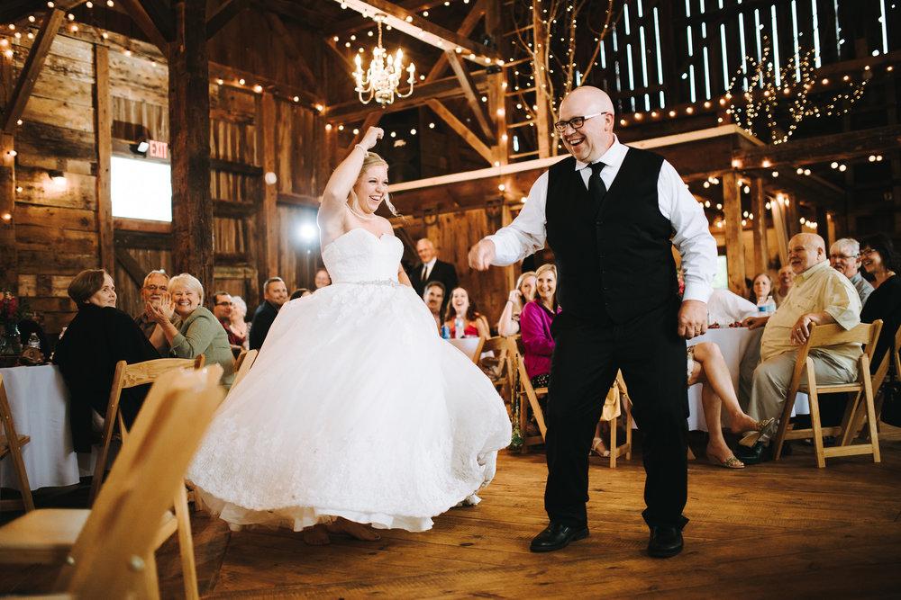 A surprise dance is the best dance.