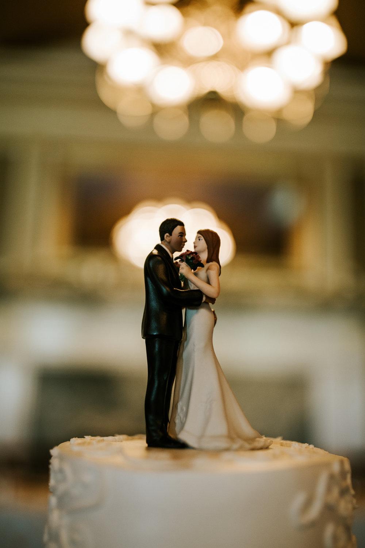 Their gorgeous custom cake topper