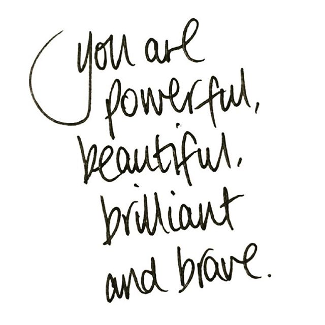Reminder for ALL women today #youareworthy #inspire