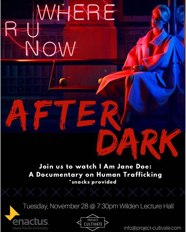 TONIGHT! Come watch I Am Jane Doe with us and eat some snacks! ✨